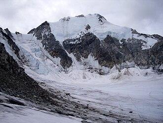 Peak Pobeda, Sakha - The north-east face of Peak Pobeda
