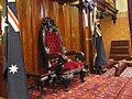 Governor's Chair in the legislative council chamber of NSW.jpg