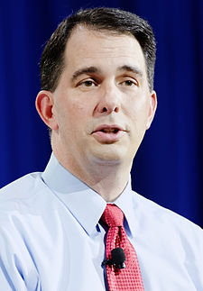 Governor of Wisconsin Scott Walker at New Hampshire Education Summit. The Seventy-Four August 19th, 2015 by Michael Vadon 10 (cropped).jpg
