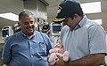 Governor visits newborn baby in USNS Comfort 171015-A-ZR018-009.jpg