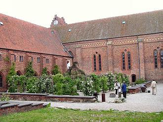 Greyfriars Abbey, Ystad - Image: Gråbrødrekloster Ystad ydre 1