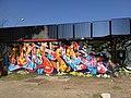 Graffiti in Piazzale Pino Pascali (Rome) - panoramio (1).jpg