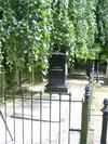 foto van Gietijzeren neoclassicistisch grafmonument met hekwerk van de dichter en staatsraad mr. Jan van s`Gravenweert
