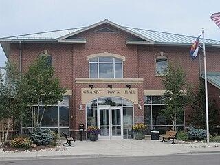 Granby, Colorado Statutory Town in Colorado, USA