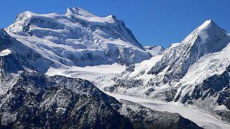 Aiguille du Croissant - Grand Combin, Pennine Alps