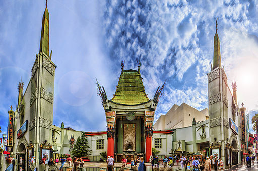 Grauman's Chinese Theater Panorama