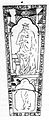 Gravstein i Nidarosdomen - me christo tumuloque (1823) (9524240314).jpg