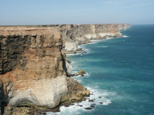 Great Australian Bight - Coastline of the Great Australian Bight, showing the marine park