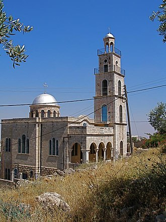 Al-Eizariya - Greek Orthodox church, al-Eizariya