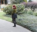 Green Sweater, Faux Leather Skater Skirt, and Cutout Boot Flats (23026754556).jpg