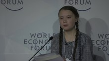 پەڕگە:Greta Thunberg- World Economic Forum (Davos).webm
