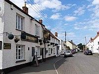 Greyhound Inn, Lime Street, Stogursey - geograph.org.uk - 1441471.jpg