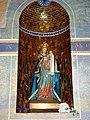 Groesbeek (NL) De Horst, Goddelijk Hart van Jezuskerk beeld Mariakapel.JPG