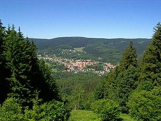 Großer Beerberg mountain