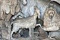 Grotta degli animali, centro, scuola del tribolo, capra.JPG