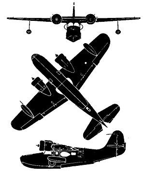 Grumman JRF-5 Goose Silhouette