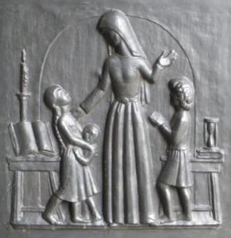 Vernon Hill (sculptor) - Image: Guildford Teaching