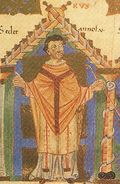 Gundekar I., Bischof von Eichstätt 1015(?)-1019, im Pontifikale Gundekarianum.jpg