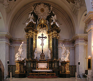Burchard Precht - The former altarpiece of Uppsala Cathedral, currently in Gustaf Vasa Church, Stockholm