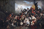 Gustave Wappers - Épisode des Journées de septembre 1830 sur la place de l'Hôtel de Ville de Bruxelles.jpg