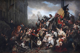Belgian Revolution 1830 revolution in Belgium against Dutch rule