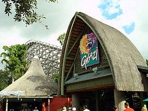 Gwazi - Image: Gwazi (Busch Gardens Africa) 02