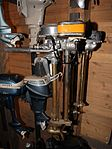 Gyro typ 125 and Archimedes typ B 20 outboard motors Forum Marinum.JPG