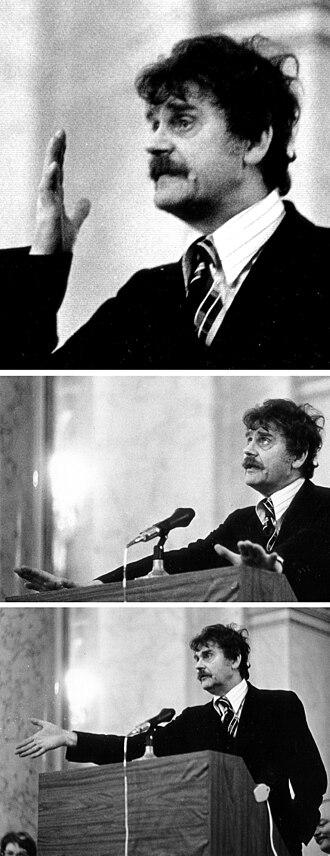 H. C. Artmann - Acceptance speech for Grand Austrian State Prize, 1974, Vienna, Hofburg