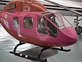 HAL Light observation Helicopter (LOH) model at HAL Museum 7882.JPG