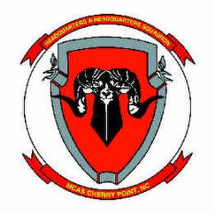 Headquarters and Headquarters Squadron - Image: HHS MCAS Cherry Point