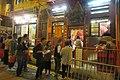 HK 上環 Sheung Wan 差館上街 Upper Station Street night 太平山街 Tai Ping Shan Street 觀音堂 Kwun Yum Tong Temple 觀音借庫 Kwun Yum Treasury Opening Festival March 2019 IX2 07.jpg