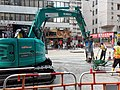 HK 上環 Sheung Wan 德輔道中 Des Voeux Road Central building team workers October 2019 SS2 02.jpg