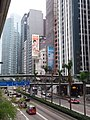 HK 中環 Central 干諾道中 Connaught Road office facades January 2019 SSG 02 footbridge.jpg