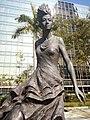 HK 尖東海濱平台 TST East Waterfront Podium 星光花園 Garden of Stars statue Anita Mui 梅艷芳 standing walking Dec 2016 Lnv2 06.jpg