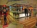 HK 銅鑼灣 CWB 柏寧酒店 The Park Lane Hotel night shopping mall shop Cafe One restaurant interior Dec-2013 visitors.JPG