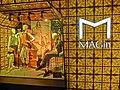 HK Causeway Bay 百德新街 Paterson Street clothing shop window MAGin light box sign Mar-2013.JPG