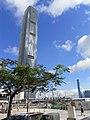 HK Central 中環 Edinburgh Place tree view IFC facade May-2012.JPG
