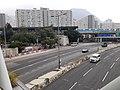 HK KT 啟德 Kai Tak 太子道東 Prince Edward Road East footbridge near 彩頤花園 Rhythm Garden December 2020 SSG 05.jpg