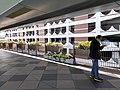 HK SW 上環 Sheung Wan near 信德中心 Shun Tak Centre 天橋 footbridge view 林士街多層停車場 Rumsey Street Multi-Storey Car Park February 2020 SS2 02.jpg