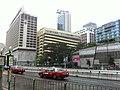 HK TST Salisbury Road Sheraton Hotel n Middle Road Multi-Storey Carpark Nov-2012.JPG