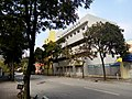 HK TSW 天水圍新市鎮 Tin Shui Wai Tin Hei Street Dec 2016 Lnv2 Buddhist To Chi Fat She Yeung Yat Lam Memorial School facade.jpg