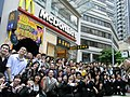 HK Wan Chai 莊士敦道 Johnston Road 輝盛閣 Fraser Suites McDonalds grand open 2010-May-02 tram stop 泰昌餅家 Tai Cheong.jpg