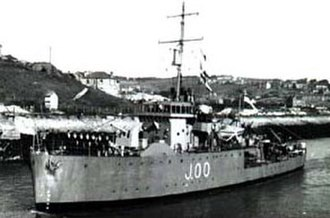 Bangor-class minesweeper - Image: HMS Bangor