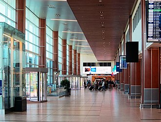 Halifax Stanfield International Airport - Check-in hall