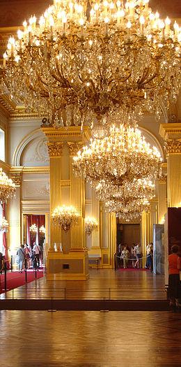 Koninklijk paleis van brussel wikipedia for De koning interieur