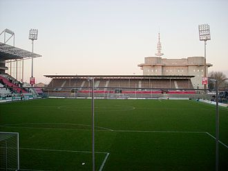 Millerntor-Stadion - The North stand in 2012.