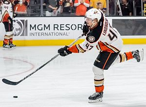 2012 NHL Entry Draft - Hampus Lindholm was selected 6th overall by the Anaheim Ducks.