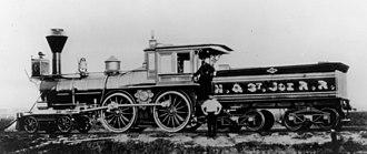 Hannibal and St. Joseph Railroad - Image: Hannibal & St. Joseph Railroad (MSA) (9933204626)