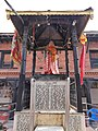 Hanuman statue with hanuman chalisa .jpg