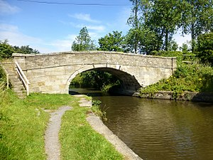 Listed buildings in Halsall - Image: Harker's Bridge